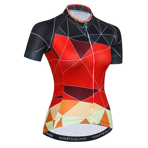 Women's Cycle Jersey ~ Short Sleeve, Radical - Deluxe Riders