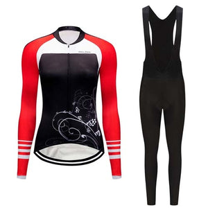 Women's Cycle Skinsuit ~ Long Kit -OR- Bib, Aero TR - Deluxe Riders