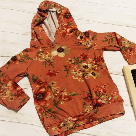 The Perfect Floral Hoodie Toddler Sizes