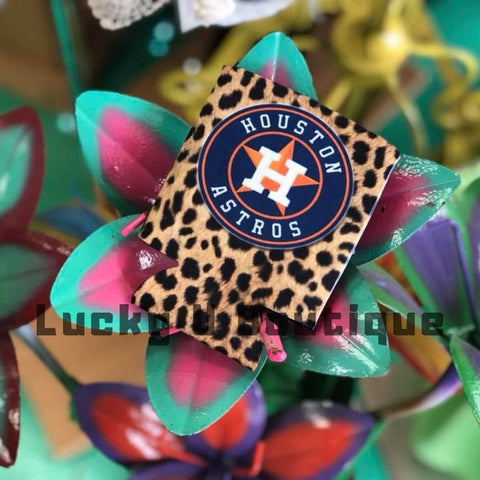 Cheetah Double Sided Astro Koozie