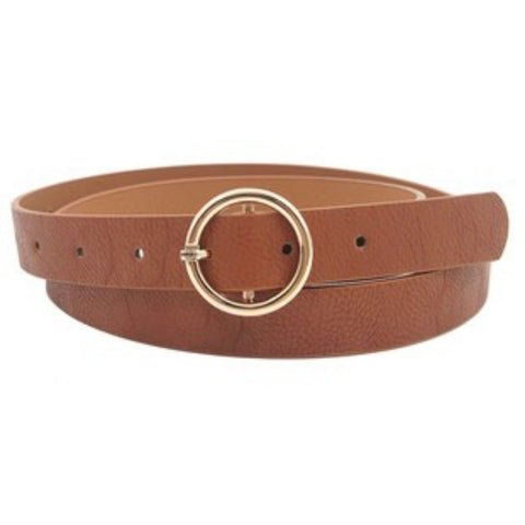 Tan Fashion Statement Belt