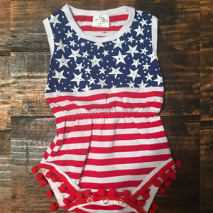 Stars and Stripes Infant Onesie