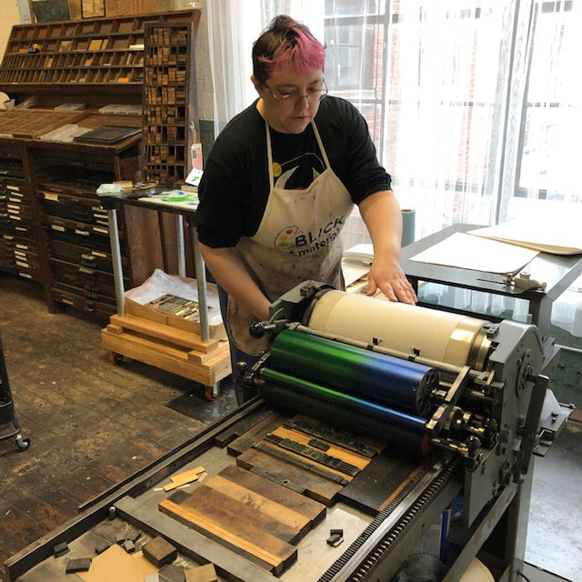 Introduction to Letterpress Printing - June