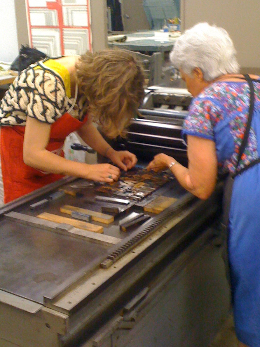 Intro to Letterpress Printing - January