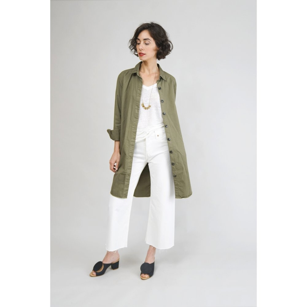 CLOSED.Dressjacket.ArmyCotton.Front.jpg