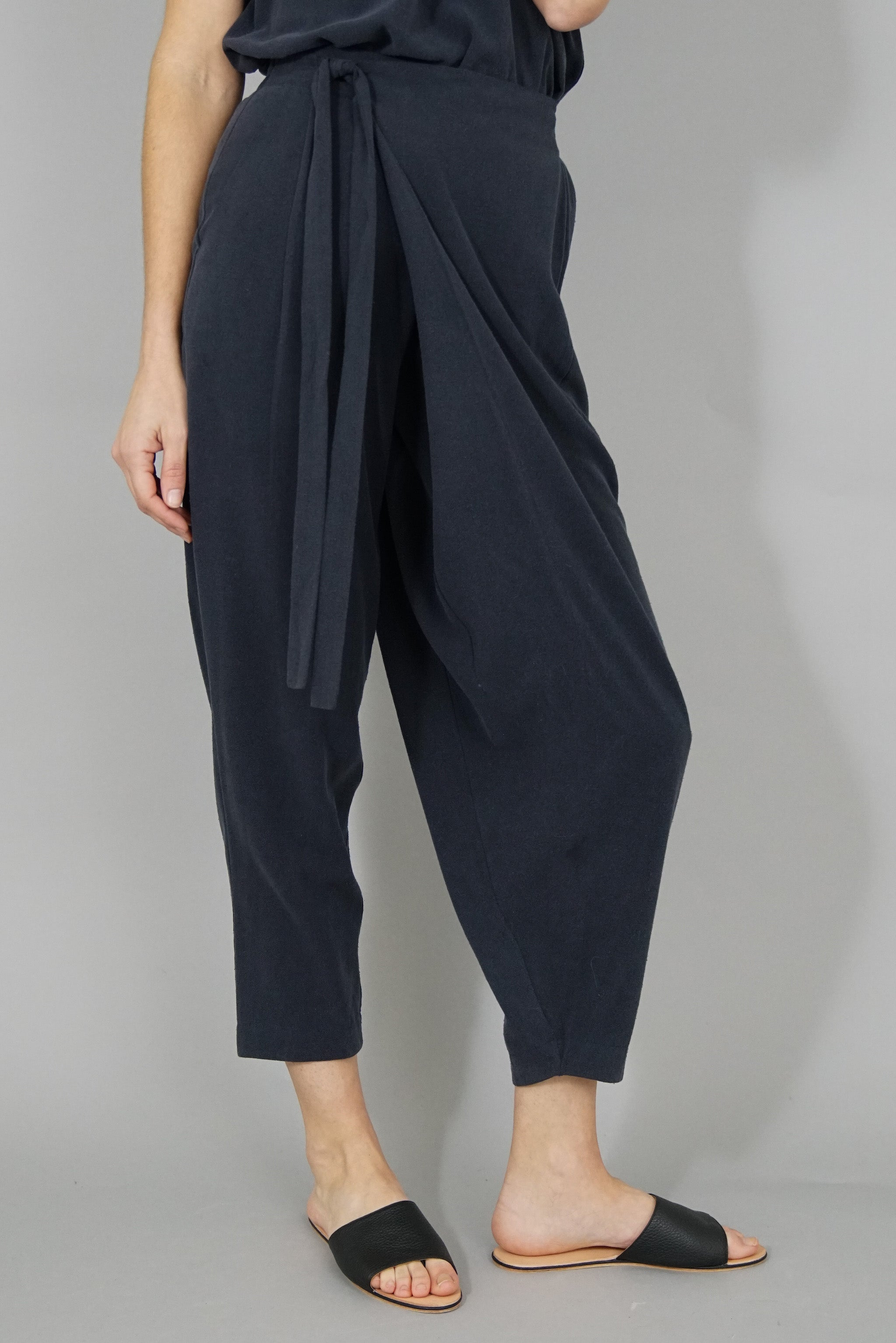 Raw Silk Sarong Pants