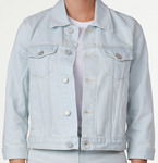 Zoey Cropped Denim Jacket