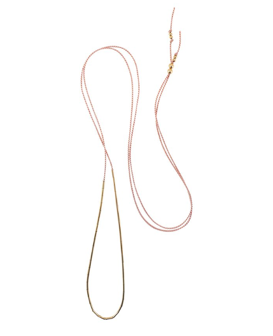Dorado Necklace - Blush