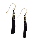 Kiki Earrings - Black