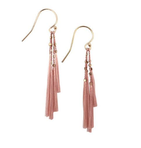 Kiki Earrings - Blush