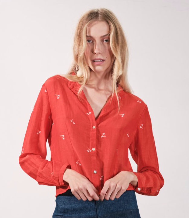 Pierce Blouse - Botanical