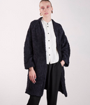 Verde Sweater Coat - Navy