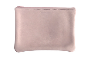 Medium Flat Pouch - Nude
