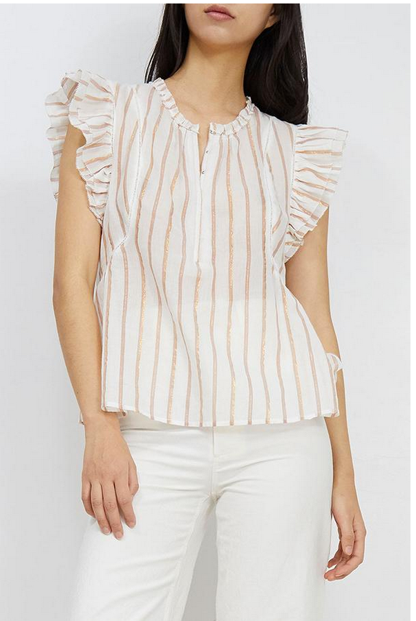 Maria Del Mar Top - Cream