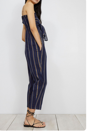 Gypsea Tank Jumpsuit - Navy
