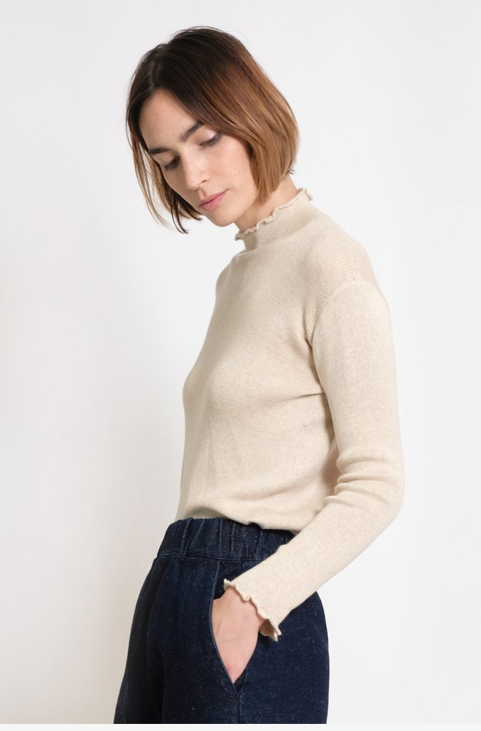 Extrafine Turtleneck - Antique