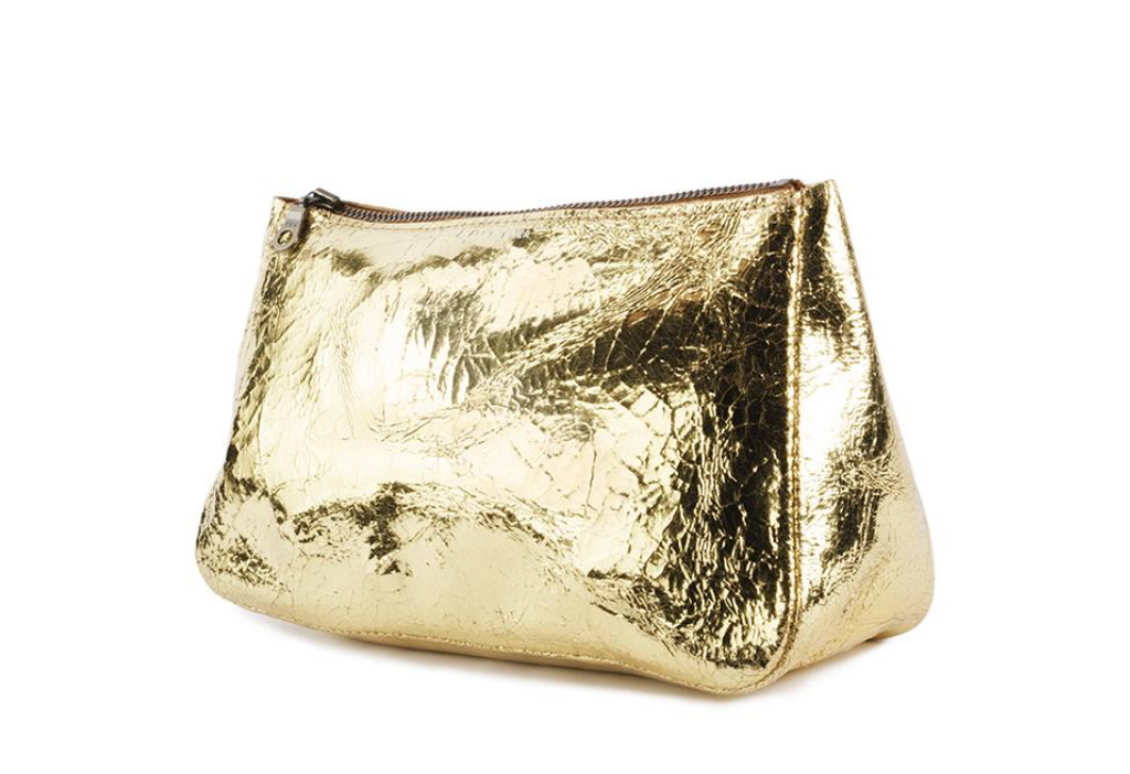 Medium Fatty Pouch - Gold Foil