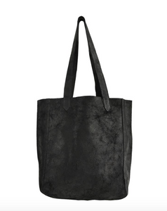 Distress Tallulah Tote -Distress Black Revolver