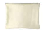 Medium Flat Pouch - Iridescent Pearl
