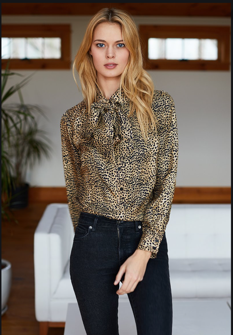 Ribbons Blouse - Little Cheetah