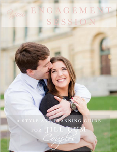 Engagement Session Style Guide Template