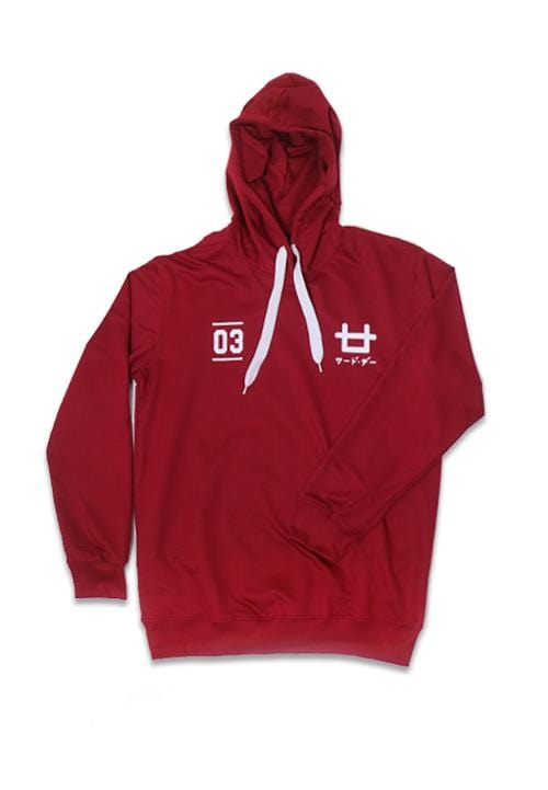 Third Day MO105C hoodies logo 03 mr Hoodie Maroon
