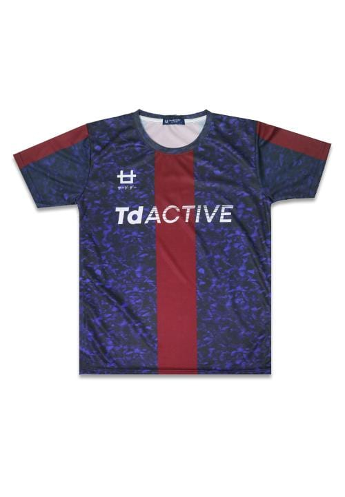 Third Day MS079 td active blue red running jersey