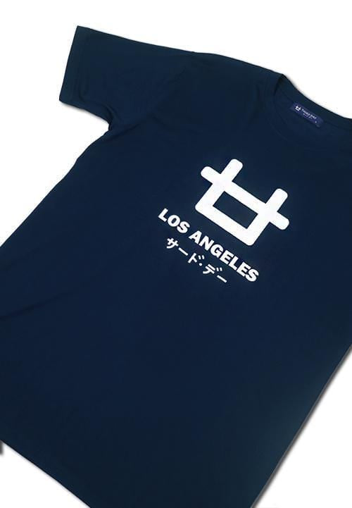 Third Day MTC83B los angeles logo nv T-shirt Navy