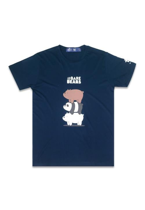 Third Day MTE21F WBB bearstack nv T-shirt Navy