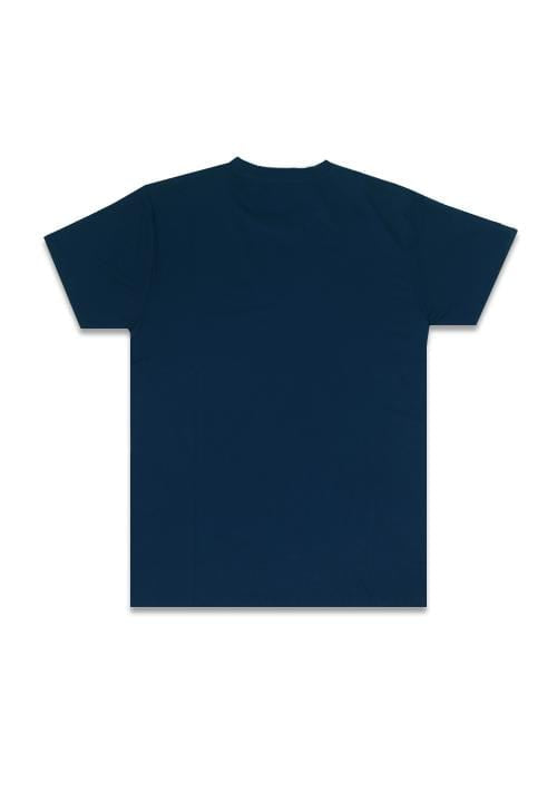 LTB43F KL thdy on white nv T-shirt Navy