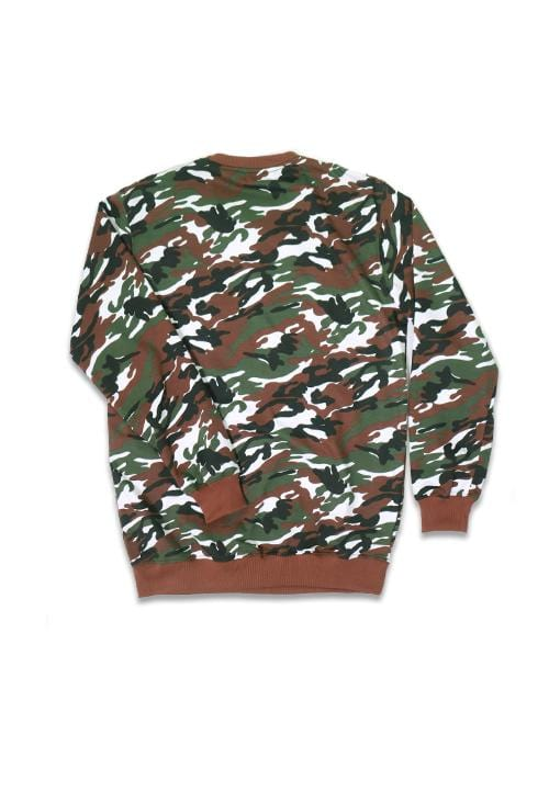 Third Day MO145F sweater THDY kith camo gr-wh