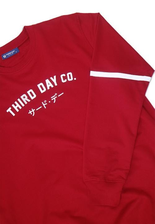 Third Day MO113B sweater tdco mr T-shirt Maroon