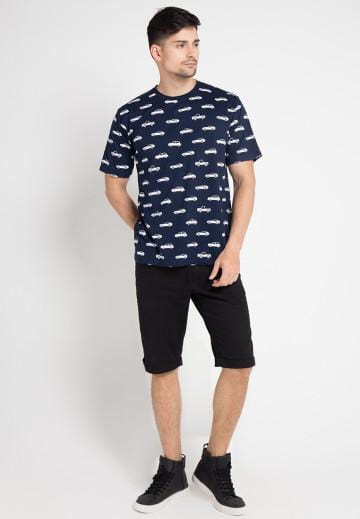 MT606K s/s Men Car Fullprint nv