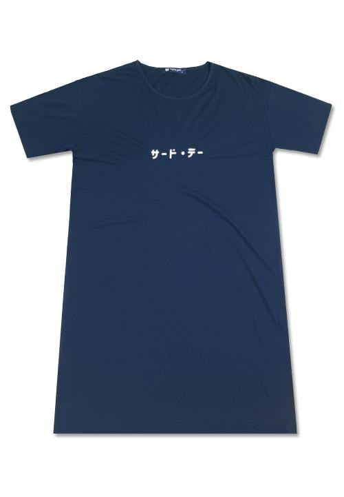 LTB11D LD rounded katakana nv Dress Navy