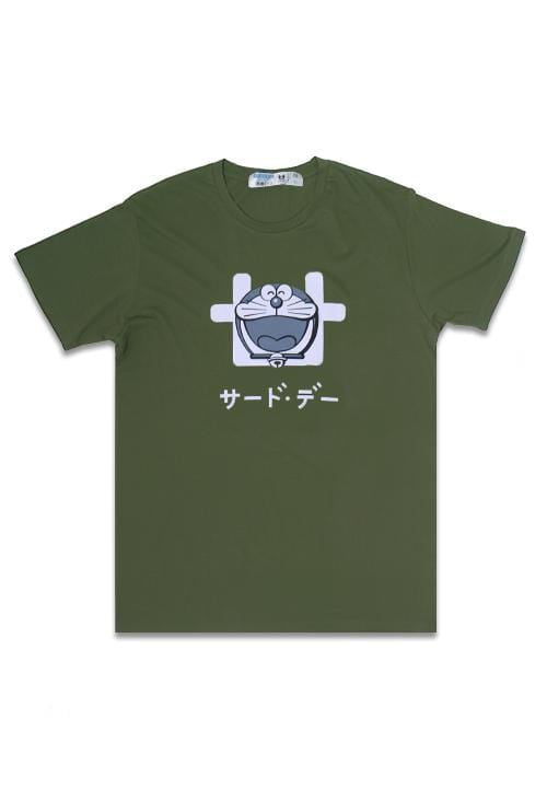 Third Day MTD70D dora laugh logoicon ga T-shirt Olive