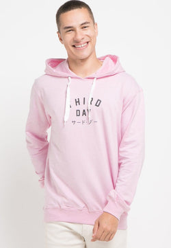 MO182 Hoodies TD simple pink