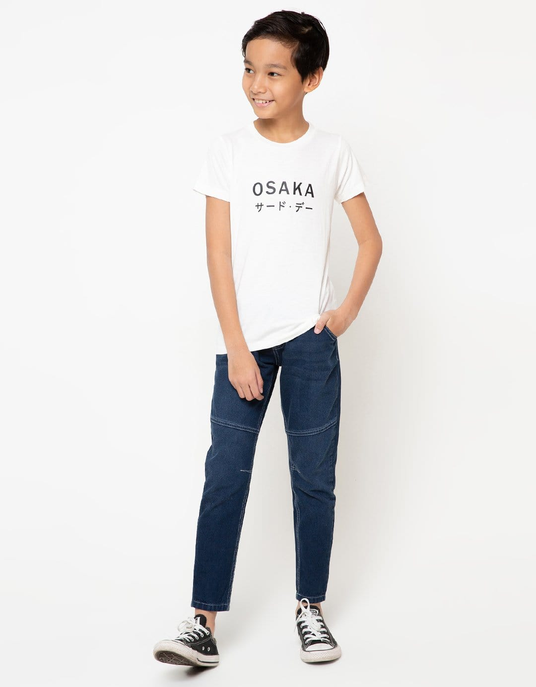 BT169 thirdday kaos anak osaka katakana dateng white