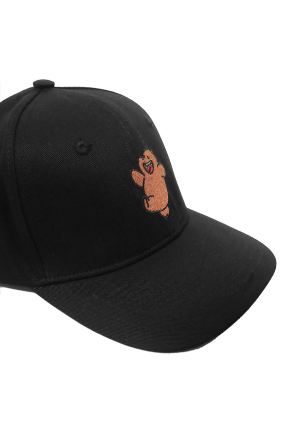 AM089 thirdday baseball cap wbb we bare bear grizzly hitam