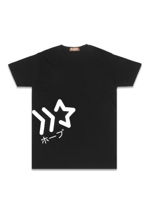 Third Day NT235 nade big star waist blk T-shirt Hitam