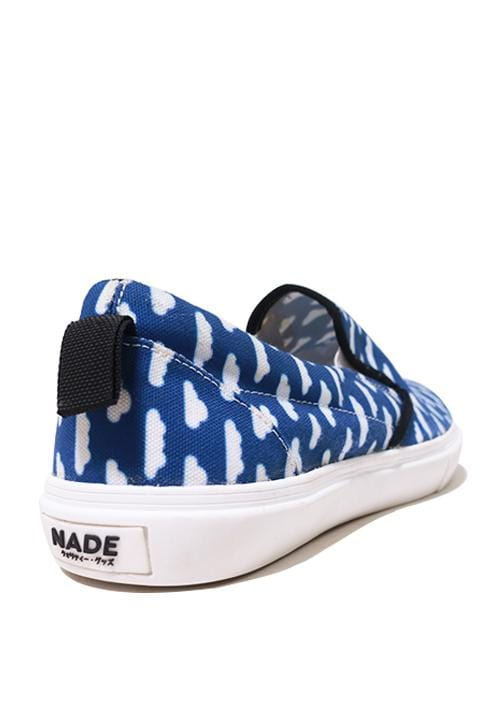 NH009 Nade slip on shoes blue clouds