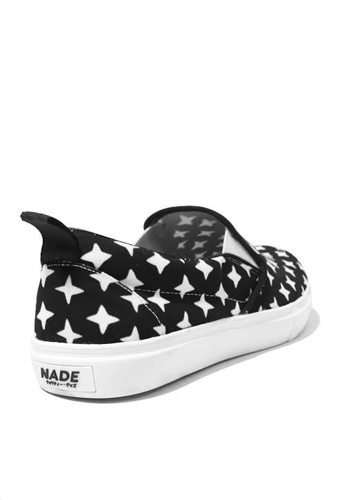 NH008 Nade slip on shoes black sprakles