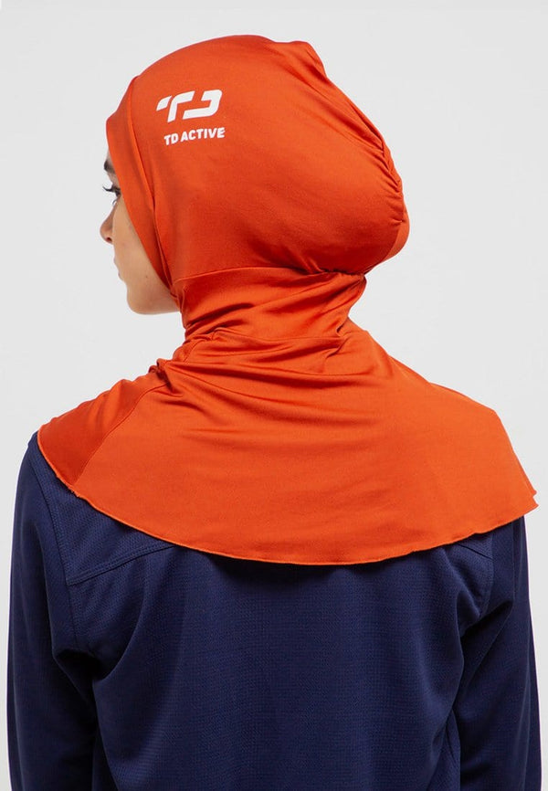 LH021 Sport hijab betta orange