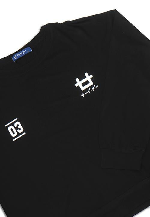 Third Day LTB24E LV 03 logoicon bk T-shirt Hitam