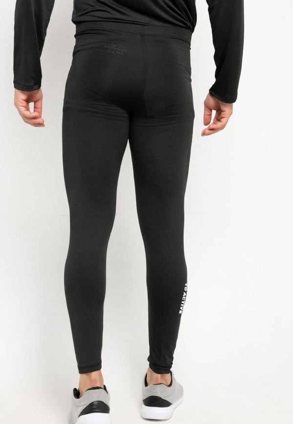 MB069 td active on calf compression legging olahraga pria black