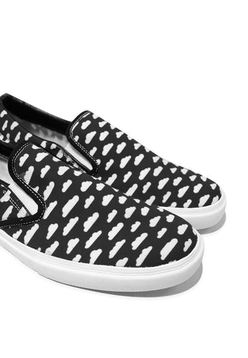 NH007 Nade slip on shoes clouds