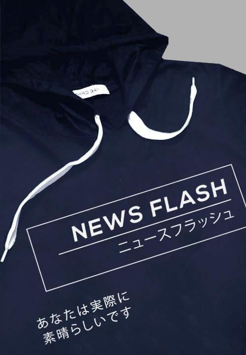 MTA35W Men Hoodie News Flash nv