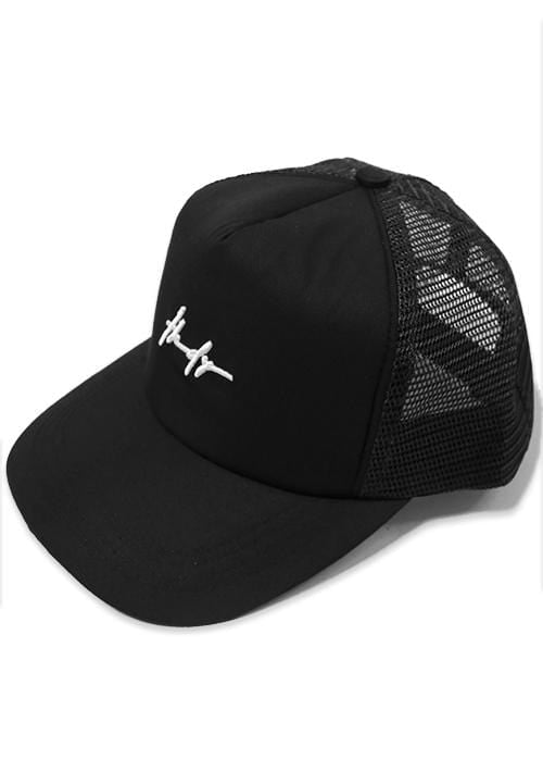Third Day AM065F TRUCKER HAT THDY SIGN BLK