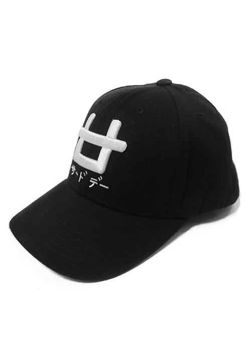 AM033W Baseball cap Logo embriodery blk