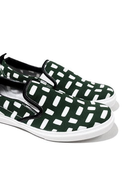 NH016 nade slip on shoes breads green