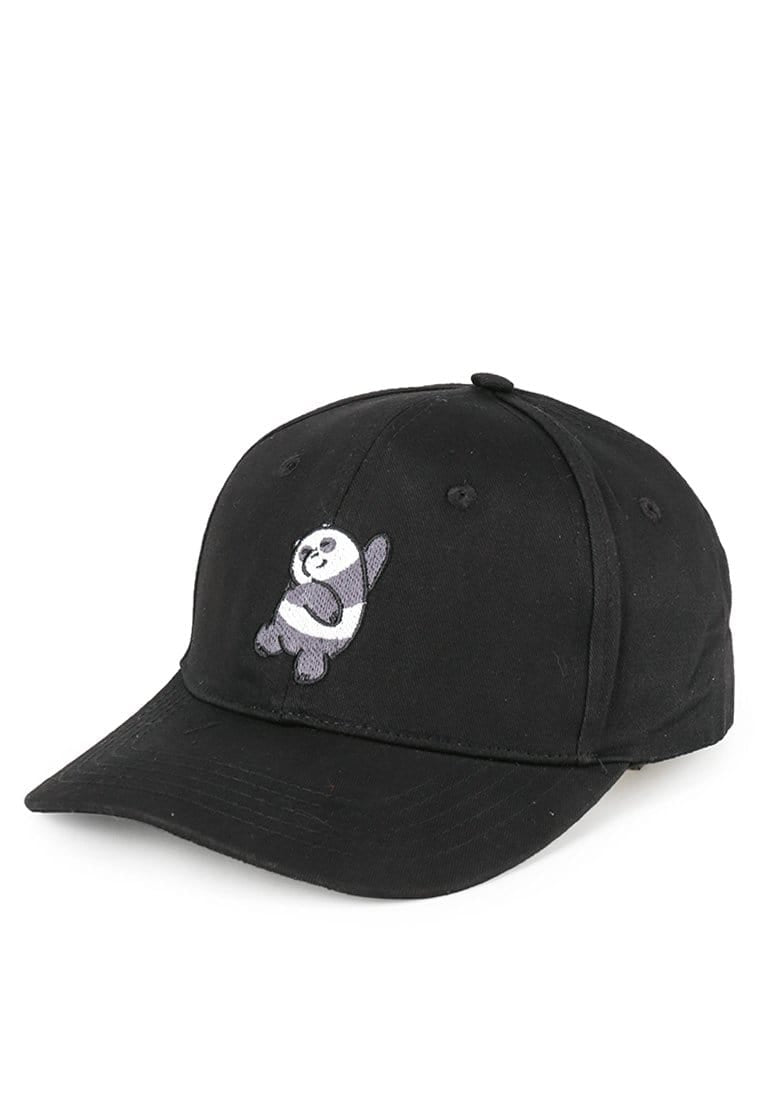AM088 thirdday baseball cap wbb we bare bear panda hitam
